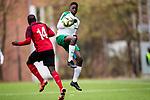 181027 under fotbollsmatchen i Allsvenskans slutspelserie f&ouml;r U19 mellan Hammarby och Vasalund den 27 Oktober 2018 i Stockholm. <br /> Foto: KENTA J&Ouml;NSSON<br /> <br /> Keywords: fotboll, u19, allsvenskan, hammarby, vasalund