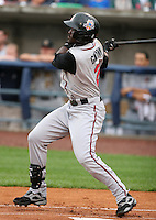 Nashville Sounds outfielder Tony Gwynn Jr during the Triple-A All-Star Game at Fifth Third Field on July 12, 2006 in Toledo, Ohio.  (Mike Janes/Four Seam Images)