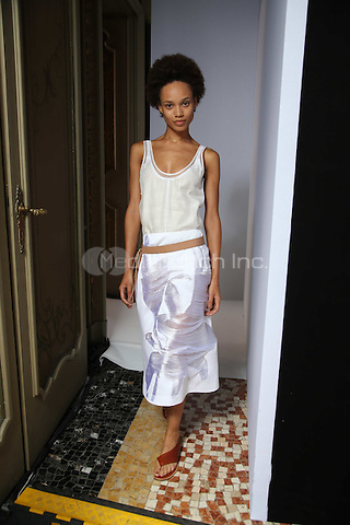 GABRIELE COLANGELO<br /> Milan Fashion Week  ss17<br /> on September 24, 2016<br /> CAP/GOL<br /> &copy;GOL/Capital Pictures /MediaPunch ***NORTH AND SOUTH AMERICAS ONLY***