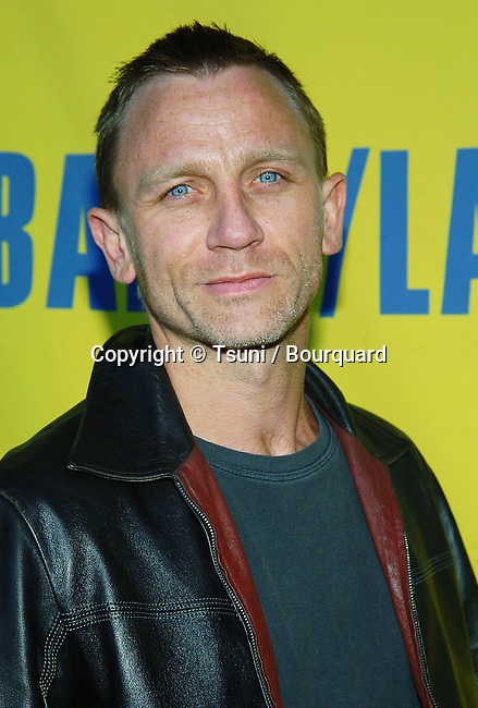 Daniel Craig arriving at the11th Annual BAFTA / LA Tea Party at the Park Hyatt Hotel in Los Angeles. January 15, 2005.