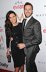 Armie Hammer and Elizabeth Chambers arriving at the First Annual The Daily Front Row Fashion Los Angeles Awards held at Sunset Tower Hotel Los Angeles Ca. January 22, 2015