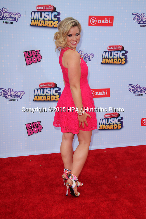 LOS ANGELES - FEB 25:  Kristin Coleman at the Radio DIsney Music Awards 2015 at the Nokia Theater on April 25, 2015 in Los Angeles, CA