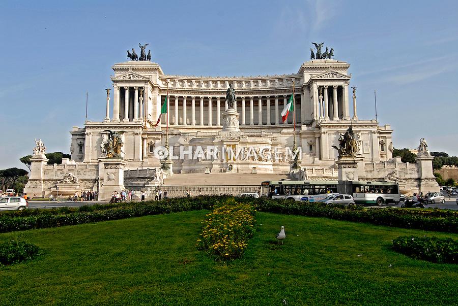Monumento a Vittorio Emanuele. Roma. Itália. 2006. Foto de Luciana Whitaker.