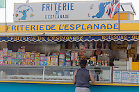 France, Pas-de-Calais (62), Côte d'Opale, Berck: Friterie //  France, Pas de Calais, Cote d'Opale (Opal Coast), Berck: friterie (typical shop of the area selling chips)