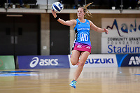 Steel's Wendy Frew in action during the ANZ Premiership - Pulse v Steel at Te Rauparaha Arena, Porirua, New Zealand on Wednesday 30 May 2018.<br /> Photo by Masanori Udagawa. <br /> www.photowellington.photoshelter.com