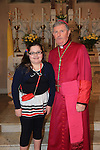 Andria Monley with Bishop Smith.Slane Confirmation..Picture: Fran Caffrey / www.newsfile.ie ..