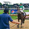 Maurer Power winning at Delaware Park on 7/15/17