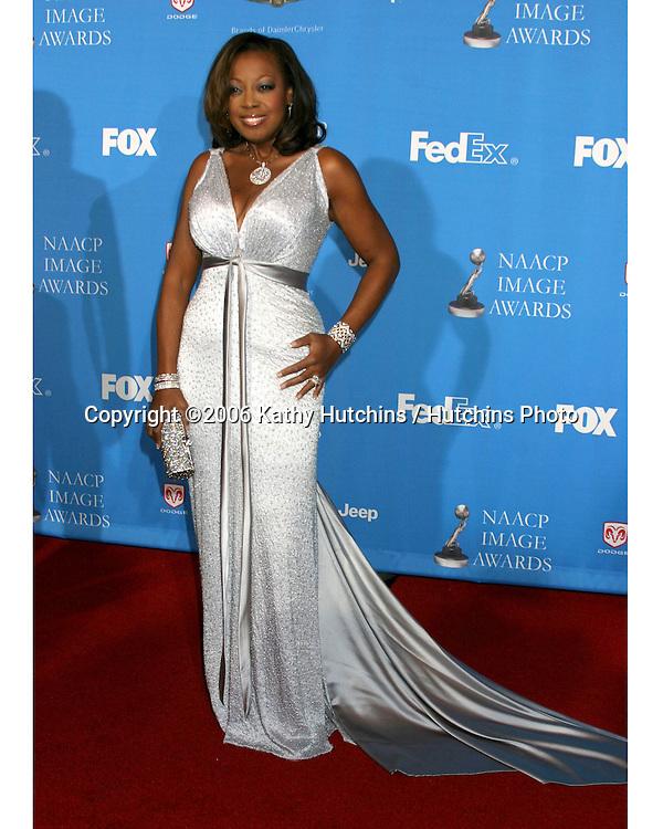 Star Jones Reynolds.37th NAACP Image Awards.Shrine Auditorium.Los Angeles, CA.February 25, 2006.©2006 Kathy Hutchins / Hutchins Photo....                 V