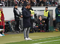 Trainer Jesse Marsch (RB Salzburg) - 20.02.2020: Eintracht Frankfurt vs. RB Salzburg, UEFA Europa League, Hinspiel Round of 32, Commerzbank Arena DISCLAIMER: DFL regulations prohibit any use of photographs as image sequences and/or quasi-video.