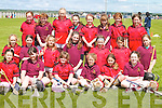CAMOGIE: Girls from Cillard and Causeway got together before they played in the Camogie Blitz at Lerrig on Sunday. Front l-r: Megan.Harkin, Sinead Fealy, Miriam Dowling, Aideen Casey, Rachel Breen and Andrea Hanly. Middle l-r: Orlaith Casey, Lorraine Keane, Angel.Hussey, Niamh Leen, Marianne Nolan, Kristen Curran and Karla White. Back l-r: Sarah Fitzgerald, Norann Gilbert, Seona Regan, Louise.Hobbert, Emma Harrington, Sarah Treacy, Jessica Fitzgerald and Alanna Maunsell.