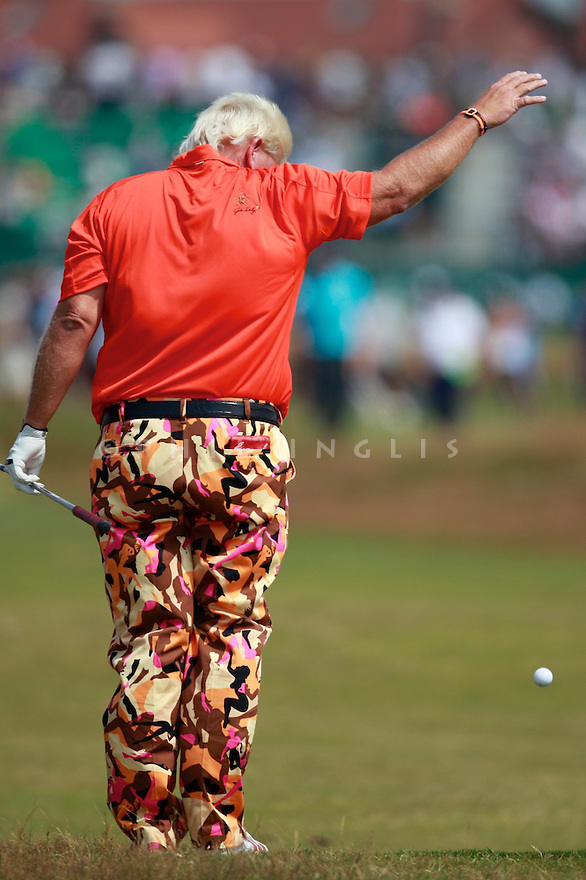 John DALY (USA) in action during the second round of the 143rd Open Championship played at Royal Liverpool Golf Club, Hoylake, Wirral, England. 17 - 20 July 2014 (Picture Credit / Phil Inglis)
