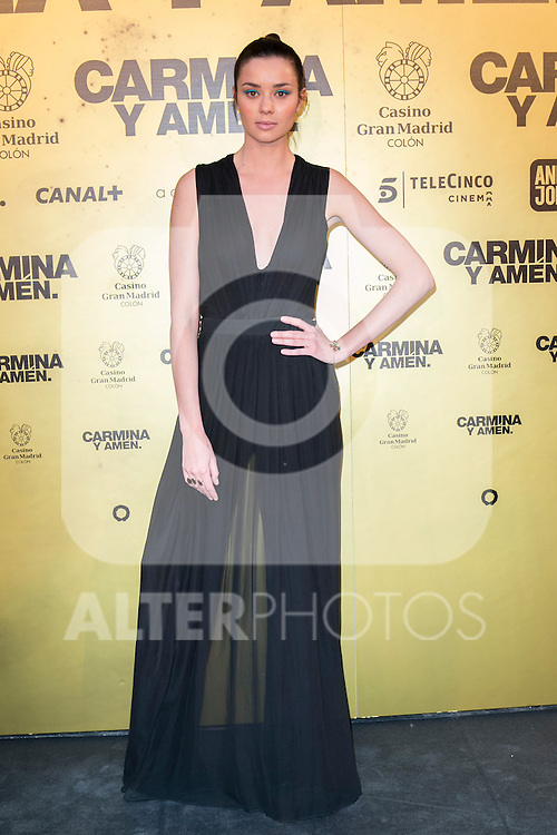 "Spanish actress Dafne Fernandez attend the Premiere of the movie ""Carmina y Amen"" at the Callao Cinema in Madrid, Spain. April 28, 2014. (ALTERPHOTOS/Carlos Dafonte)"