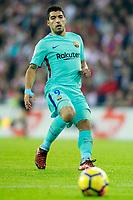 FC Barcelona's Luis Suarez during La Liga match. October 28,2017. (ALTERPHOTOS/Acero) /NortePhoto.com