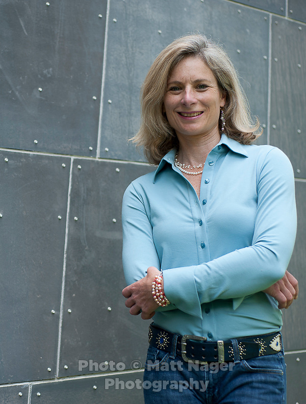 Professor of Physics at Harvard University Lisa Randall (cq) and the annual physics-astrophysics program at the Aspen Center for Physics in Aspen, Colorado, Saturday, July 11, 2011. Randall studies theoretical particle physics and cosmology at Harvard University and authored the book Warped Passages: Unraveling the Mysteries of the Universe's Hidden Dimensions...Photo by Matt Nager