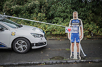 roadside 'goodbye Tom Boonen' actions have already started<br /> <br /> Tour de l'Eurom&eacute;tropole 2016 (1.1)<br /> Poperinge &rsaquo; Tournai (196km)/ Belgium