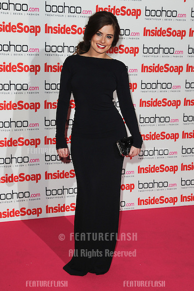 Rachel Shenton arriving for the 2012 Inside Soap Awards, at No.1 Marylebone, London. 24/09/2012 Picture by: Steve Vas / Featureflash