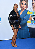"LOS ANGELES, USA. April 08, 2019: Issa Rae at the premiere of ""Little"" at the Regency Village Theatre.<br /> Picture: Paul Smith/Featureflash"
