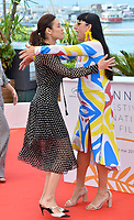 Rossy De Palma &amp; Olga Kurylenko at the photocall for &quot;The Man Who Killed Don Quixote&quot; at the 71st Festival de Cannes, Cannes, France 19 May 2018<br /> Picture: Paul Smith/Featureflash/SilverHub 0208 004 5359 sales@silverhubmedia.com