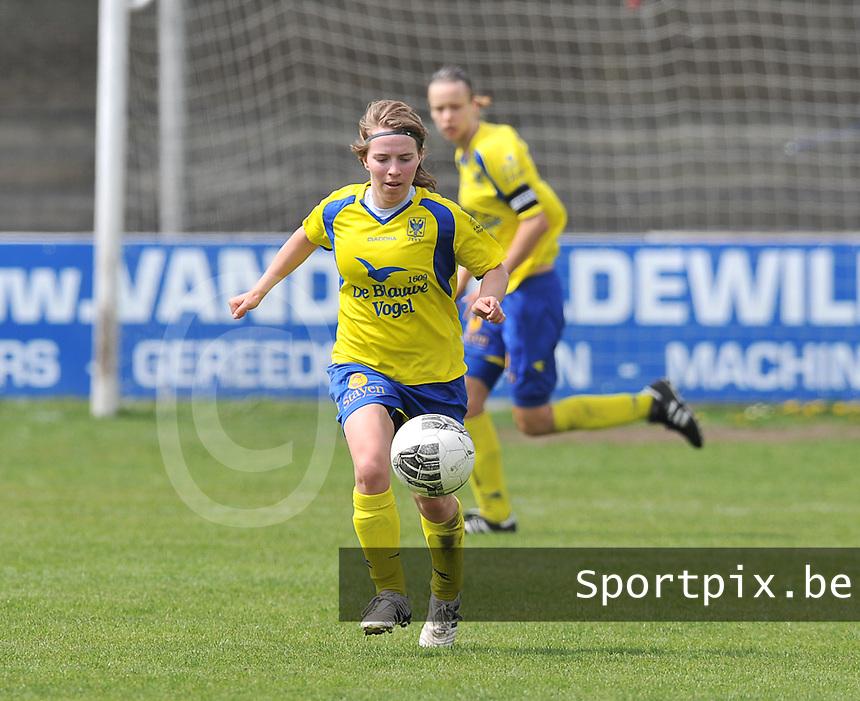 Club Brugge Dames - STVV Sint Truidense VV : Kimberly Verbist.foto DAVID CATRY / Nikonpro.be