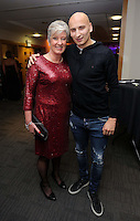 Pictured: Suzanne Eames and Jonjo Shelvey<br />