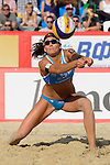 30.05.2015, Moskau, Vodny Stadion<br /> Moskau Grand Slam, Main Draw / Halbfinale<br /> <br /> Annahme Marta Menegatti (#1 ITA)<br /> <br />   Foto &copy; nordphoto / Kurth