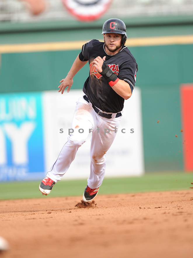 Cleveland Indians Todd Hankins (79) during a pre-season game against the Cincinnati Reds on March 1, 2016 at Goodyear Ballpark in Goodyear, AZ. The Reds beat the Indians 6-5.
