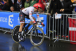 MArkel Irizar (ESP) Trek-Segafredo in action during Stage 1, a 14km individual time trial around Dusseldorf, of the 104th edition of the Tour de France 2017, Dusseldorf, Germany. 1st July 2017.<br /> Picture: Eoin Clarke | Cyclefile<br /> <br /> <br /> All photos usage must carry mandatory copyright credit (&copy; Cyclefile | Eoin Clarke)