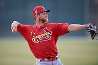 St. Louis Cardinals Bruce Caldwell (23) during a Minor League Spring Training game against the Miami Marlins on March 26, 2018 at the Roger Dean Stadium Complex in Jupiter, Florida.  (Mike Janes/Four Seam Images)
