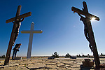 The Cross of Our Lord, Jesus Christ monument created by Steve Thomas in the Texas Panhandle