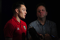 2018 11 13 Wales Press Conference at St Fagans in Cardiff, Wales, UK.