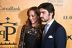 Veronica Gutierrez and Miguel Angel Perera attends to delivery Paquiro bulls prize at the Ritz Hotel in Madrid. 01 October 2015.<br /> (ALTERPHOTOS/BorjaB.Hojas)