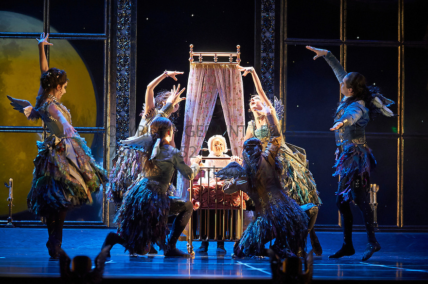 Matthew Bourne's Sleeping Beauty A Gothic Fairy Tale. Directed and choreographed by Matthew Bourne, Music by Tchaikovsky. Opens at Sadlers Wells Theatre on 7/12/12 . CREDIT Geraint Lewis