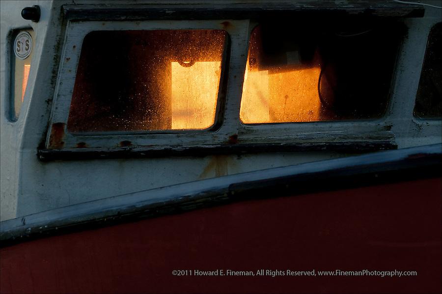 Fishing Boat at sunrise, Owen Park Beach, Martha's Vineyard