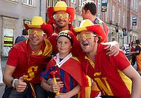 EURO 2012 - POLAND - Gdansk - 18 JUNE 2012 -  Gdansk city centre Croatia vs Spain day match.