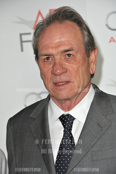 "Tommy Lee Jones at the AFI Fest premiere of his movie ""Lincoln"" at Grauman's Chinese Theatre, Hollywood..November 8, 2012  Los Angeles, CA.Picture: Paul Smith / Featureflash"