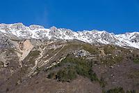 Montagne du Cheiron, Alpes Maritimes, France, 10 March 2009