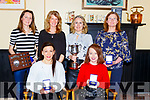 The Maine Valley team that won the Munster Cross Country championship were honoured at the Maine Valley AC awards night in Sherwoods bar on Friday night  front row l-r: Marie McKenna, Julie Deane. Back row: Mary Daly, Bernie O'Mahony, Maria McCarthy and Pauline Joseph