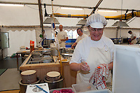 Working people in the british food castle. (Patrik Tanner/TPA/EQ Images)