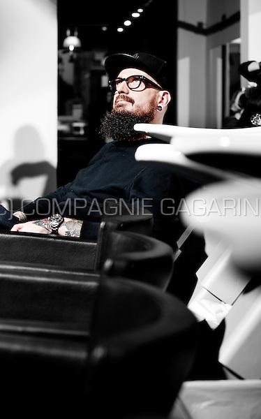Belgian hairdresser Pascal Van Loenhout (Belgium, 06/10/2015)