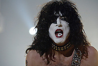 Paul Stanley  and KISS perform at the Forum