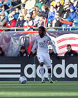 DC United forward Joseph Ngwenya (11). In a Major League Soccer (MLS) match, the New England Revolution defeated DC United, 2-1, at Gillette Stadium on March 26, 2011.
