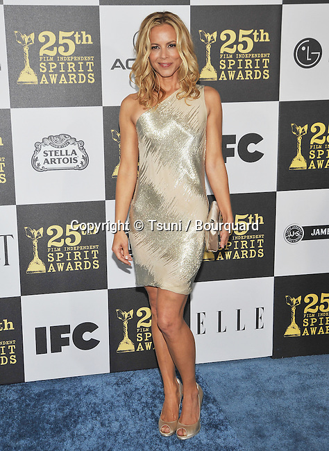 Maria Bello _23   -<br /> 25th Film Independent Spirit Awards at the Nokia Theatre In Los Angeles.