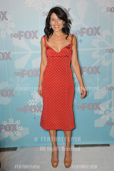 """House"" star Lisa Edelstein at the Fox All-Star Party Winter 2011 in Pasadena..January 11, 2011  Pasadena, CA.Picture: Paul Smith / Featureflash"