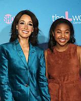 "2 December 2019 - Los Angeles, California - Jennifer Beals, Jordan Hull. Premiere Of Showtime's ""The L Word: Generation Q"" held at Regal LA Live. Photo Credit: FS/AdMedia /MediaPunch"