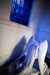 The iconic 'Weeping Angel' of New Orleans famous cemeteries.