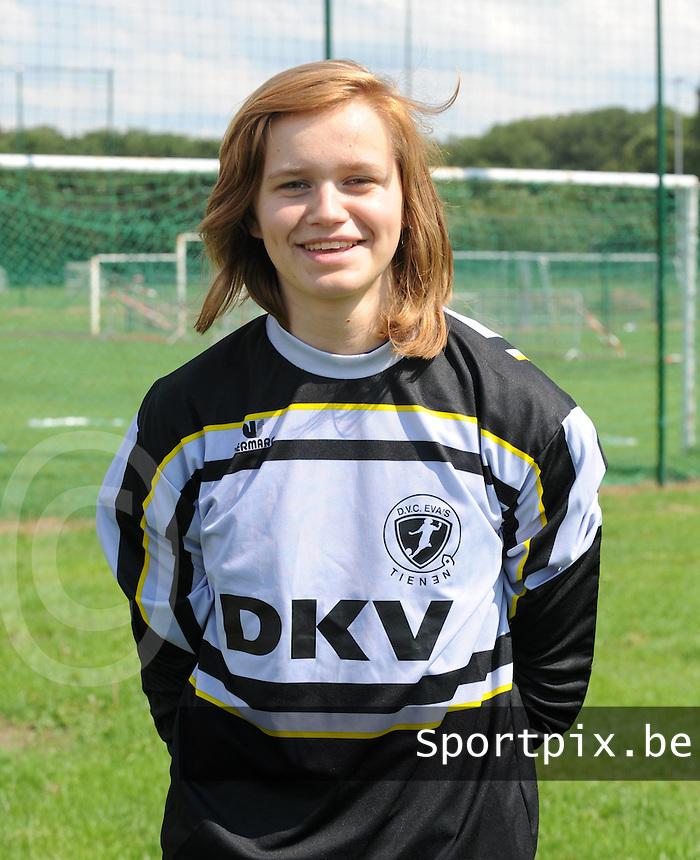 KVK Eva ' s Tienen : Stephanie Meykens.foto DAVID CATRY / Vrouwenteam.be
