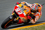 The Rider of motoGP Marc Marquez during the qualifying practice of Grand Prix Sachsenring in Germany. 12/072014. Samuel de Roman / Photocall3000.