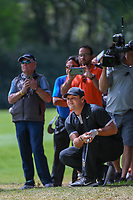 Patrick Reed (USA) watches his shot from the trees on 11 during round 2 of the World Golf Championships, Mexico, Club De Golf Chapultepec, Mexico City, Mexico. 2/22/2019.<br /> Picture: Golffile | Ken Murray<br /> <br /> <br /> All photo usage must carry mandatory copyright credit (&copy; Golffile | Ken Murray)