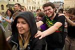 Flashmob in Cracow.