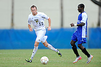 2 October 2011:  FIU midfielder Chris Lamarre (12) pursues the ball in the second half as the FIU Golden Panthers defeated the University of Kentucky Wildcats, 1-0 in overtime, at University Park Stadium in Miami, Florida.